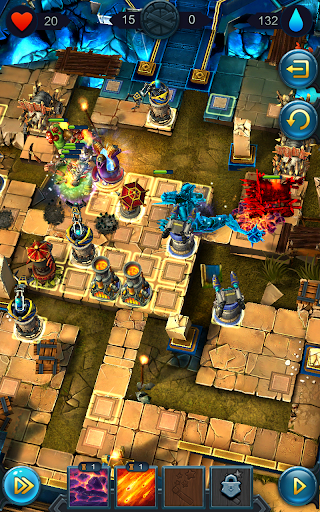 Defenders 2: Tower Defense CCG  captures d'u00e9cran 6