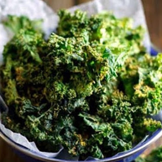 Healthy Kale baked Chips