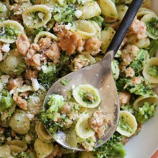 Orecchiette Pasta with Chicken Sausage and Broccoli Recipe