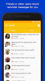 Squalk Reminders - náhled
