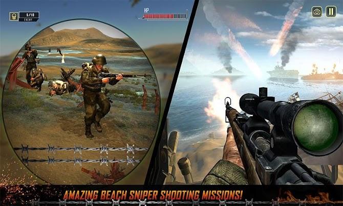 WW2 Survival War Prisoner : FPS Shooting Game Android 2