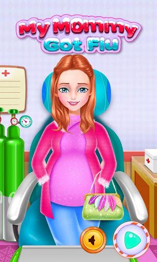 엄마 독감 의사 게임