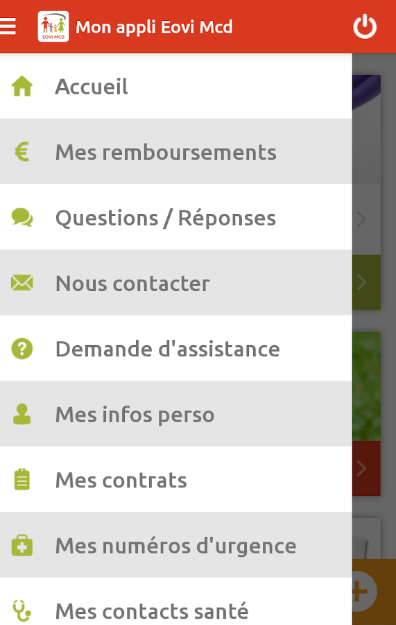 Ma mutuelle Eovi Mcd- screenshot