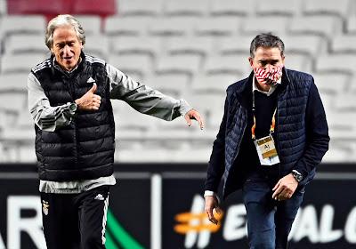 """Jorge Jesus avant Standard-Benfica : """"Le match aller peut laisser croire que ce clubn'est pas très fort, mais c'est faux"""""""