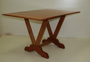 Photo: Drop side table-Christos Kondos. Silky Oak His first project