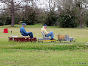 Photo: George Frank and John Frank.     HALS Chili Fest Meet 2014-0301 RPW