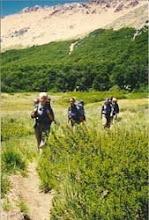 Photo: 1998 - Bariloche, Campamento anual, Posta Femenina