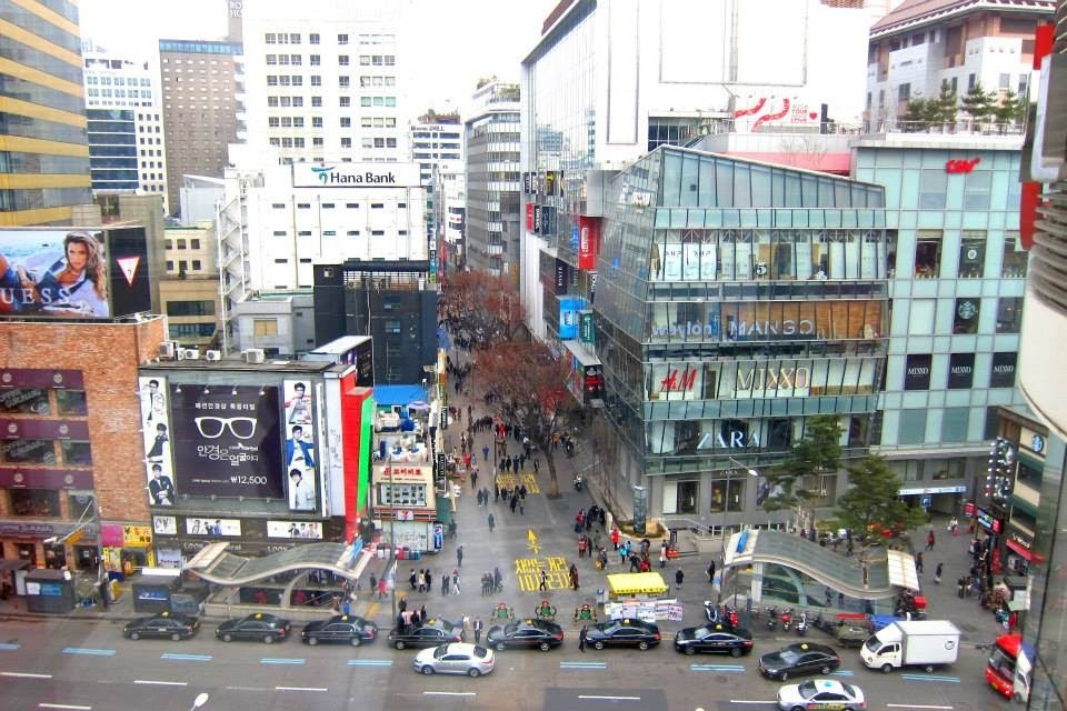 Myeongdong and Lotte Deartment Store