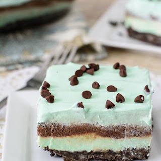No-Bake Mint Chocolate Lasagna Dessert