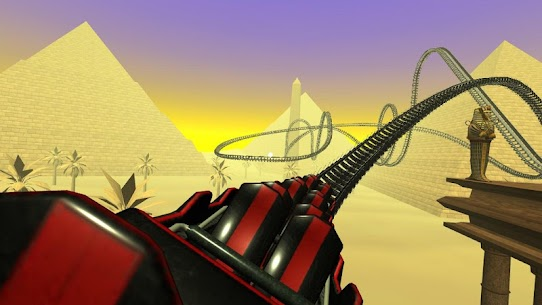 Egyptian Pyramids Virtual Reality Roller Coaster 5