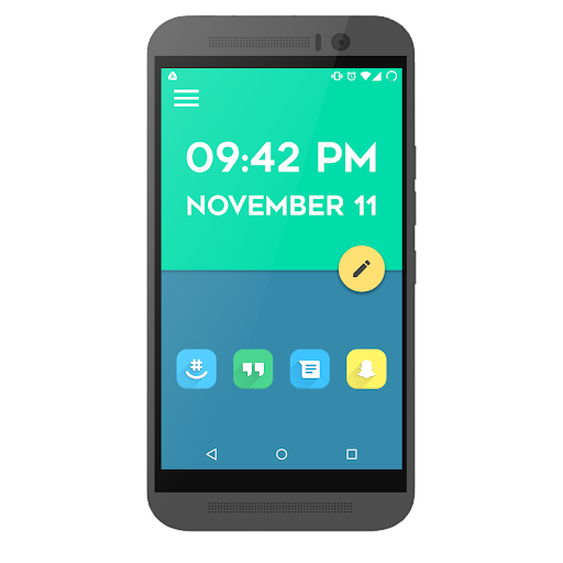 Light Material Theme for KLWP