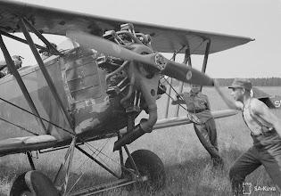 Photo: Letov  Š-218A Fínsko