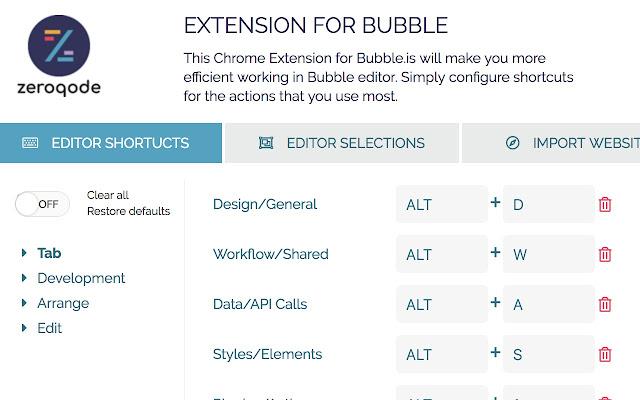 Zeroqode Extension for Bubble!