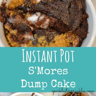 Instant Pot S'Mores Dump Cake.