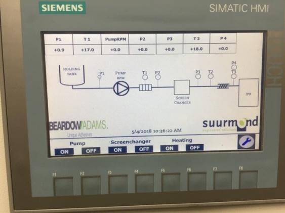 Siemens control system