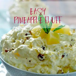 Easy Pineapple Fluff.