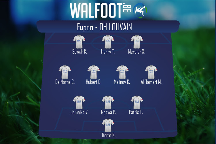 OH Louvain (Eupen - OH Louvain)