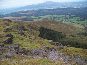Photo: Knocksheegowna Mountain (Comeragh Mtns) with view to Slievenamon