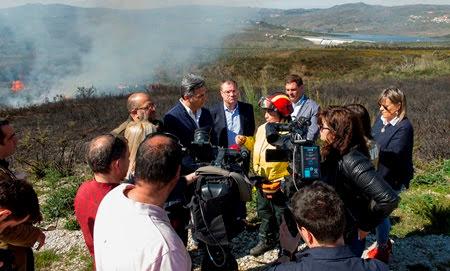 Secretário de Estado participa em Lamego em ação de fogo controlado