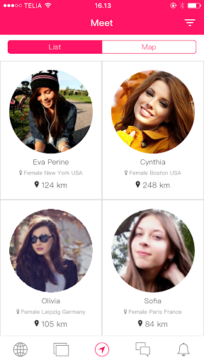 Nodes: Chat & Meet New Friends, Online Chat Groups  screenshots 12