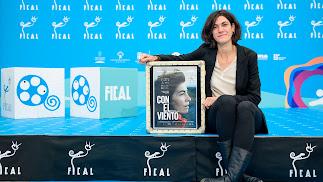 Meritxell Colell es la directora de 'Con el viento', película de la sección 'Ópera Prima'.