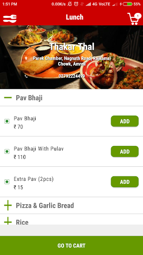 OHHO - Food Delivery Service in Amreli screenshots 3
