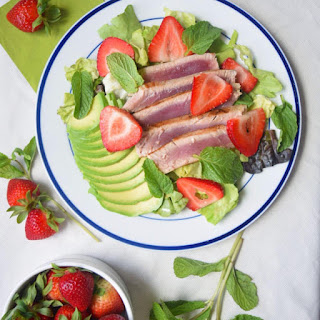 Ahi Tuna Strawberry Salad