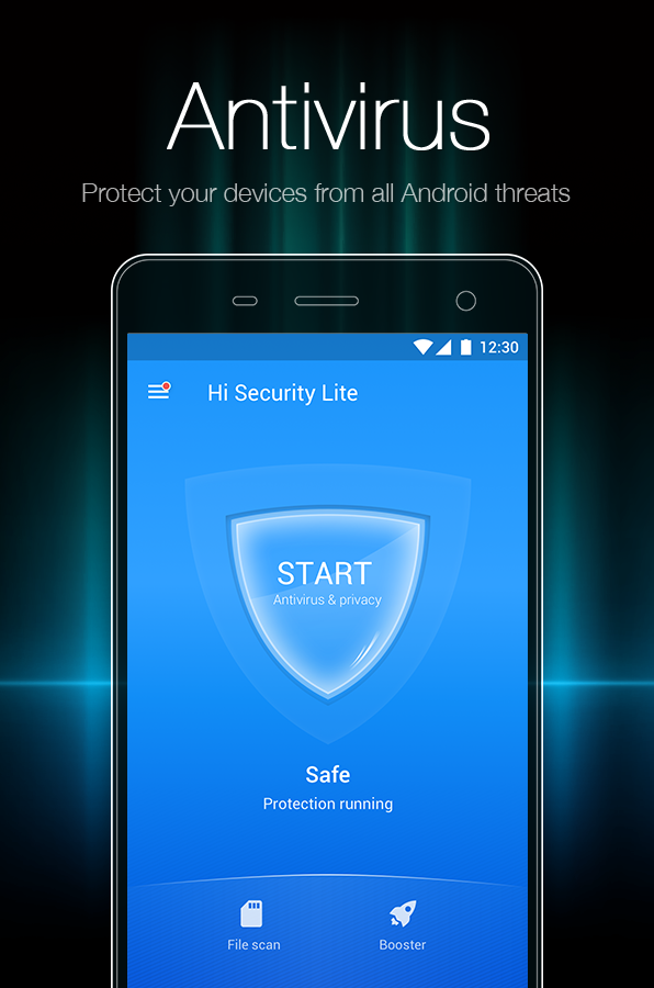 Mobile Protection Virus Phone