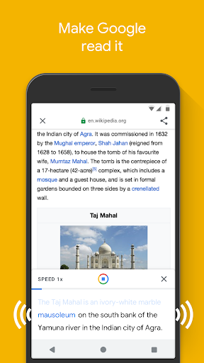 Google Go screenshot 3