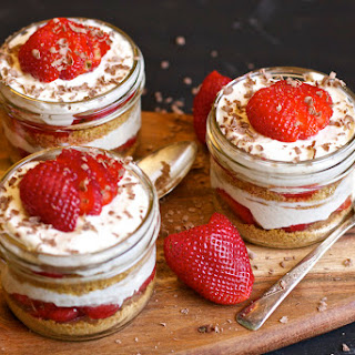 Strawberry Cheese Cake Trifle