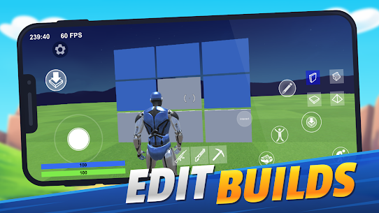 1v1.LOL – Online Building  MOD APK [God Mode + Headshot] 2