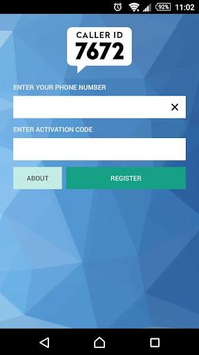7672 - Caller ID for Nigeria