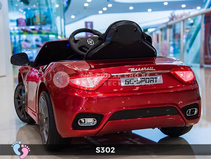 Ô tô cho trẻ em cao cấp Maserati S-302 7