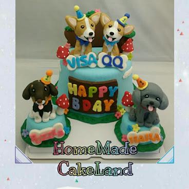 3D寵物蛋糕♡多隻獨立款