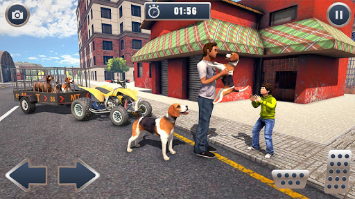 ATV Bike Dog Transporter Cart Driving: Dog Games 1.16 screenshots 4