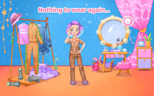 Fashion Dress up games for girls. Sewing clothes screenshots 9