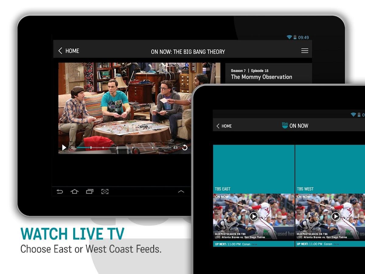 Watch TBS- screenshot