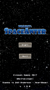 SpaceAnter - náhled