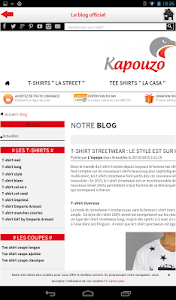 Kapouzo Officiel Streetwear screenshot 13