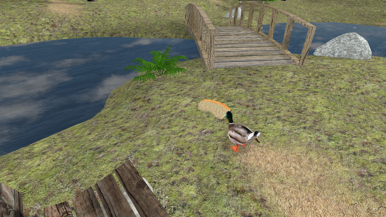 Duck Pond VR- screenshot