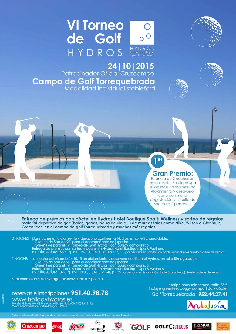 VI Torneo de Golf Holiday Hydros