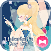 Cute Wallpaper Tinkerbell's Day Off Theme