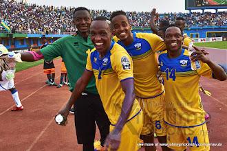 Photo: [Rwanda vs Gabon, CHAN - Group A, 20 Jan 2016 in Kigali, Rwanda.  Photo © Darren McKinstry 2016, www.XtraTimeSports.net]