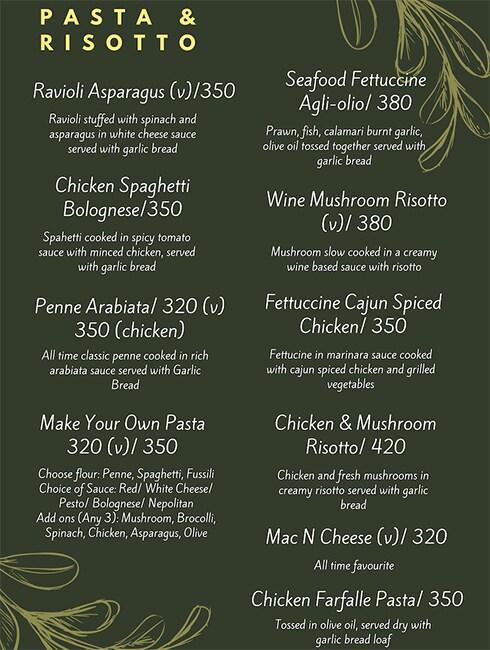 Rike- Terrace Bar & Grill menu 4