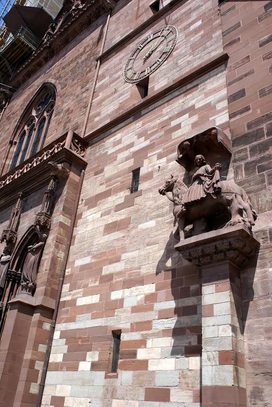 Базель в июле 2009 - фотографии Базеля, Швейцария. Базельский собор