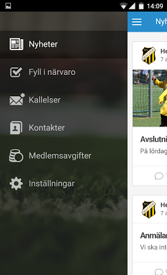 Svenskalag - screenshot