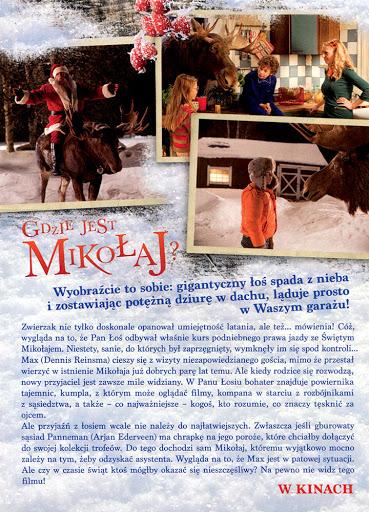 Tył ulotki filmu 'Gdzie Jest Mikołaj?'