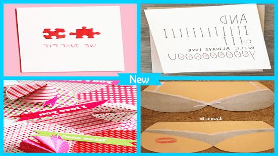 Sweet DIY Valentine Card - náhled