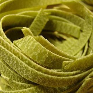 Fresh Spinach Pasta.