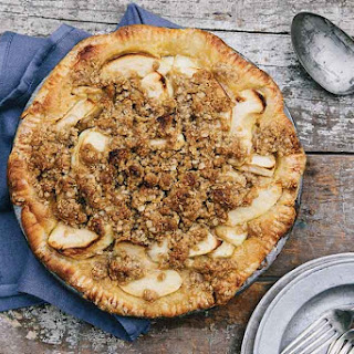 Buttermilk Apple Pie with a Streusel Crust